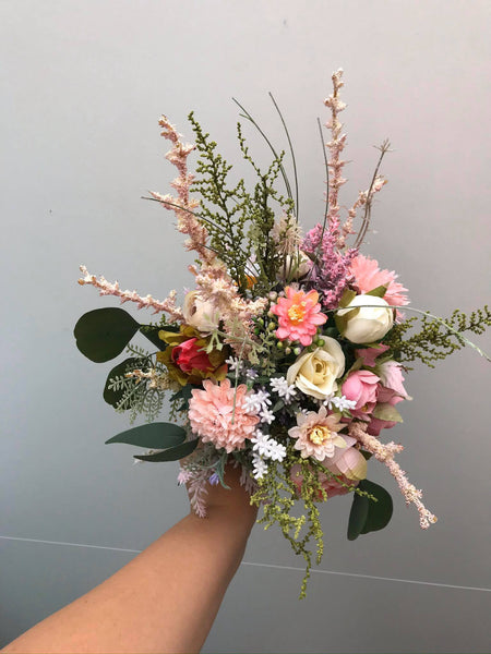 Small romantic wedding bouquet Bridal bouquet Flower Bridal Bouquet Bridesmaid Bouquet Artificial Bouquet Magaela accessories Personalised