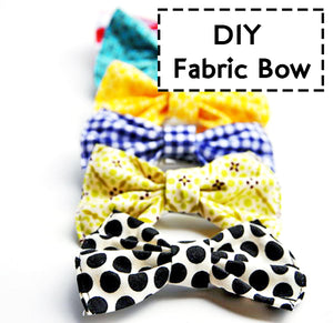 Fabric Bow Tutorial