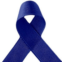 ribbon - 25mm grosgrain ribbon - Royal Blue - Fabridasher