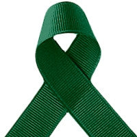 ribbon - 9mm grosgrain ribbon - Forest Green - Fabridasher