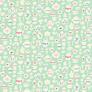 cotton - **PREORDER** Liberty Fabrics - Time for Tea - Teacup Treasures - Fabridasher