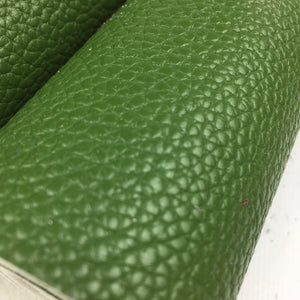 Textured Faux Leather - Textured Faux Leather - Kale - Fabridasher