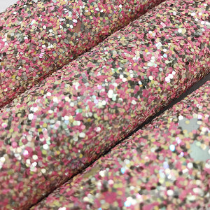 Glitter - Chunky Glitter - Clamshell with heart confetti - Fabridasher