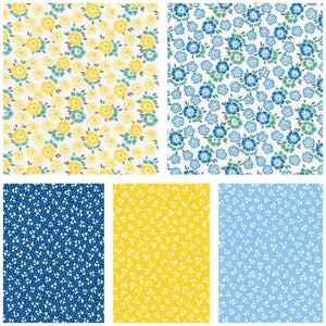 cotton - Robert Kaufman - Sunshine Garden - Fabridasher