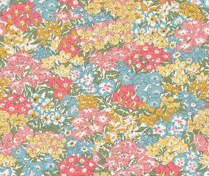 Liberty Fabrics - Orchard Garden - Wisely Grove - Coral