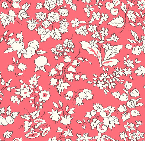 Liberty Fabrics - Orchard Garden - Fruit Red