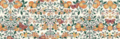 Liberty Fabrics - Orchard Garden - Orchard - Coral