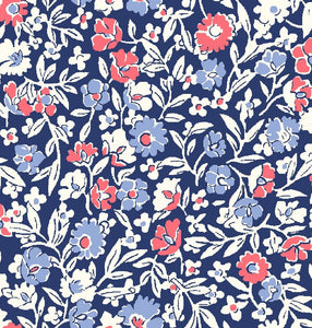 Liberty Fabrics - Orchard Garden - Primula Dawn - Red