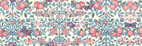 Liberty Fabrics - Orchard Garden - Orchard - Red