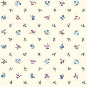 Liberty Fabrics - Orchard Garden - Pome Blossom - Red