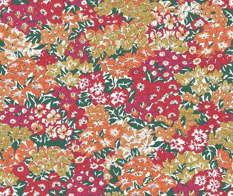Liberty Fabrics - Orchard Garden - Wisely Grove - Red