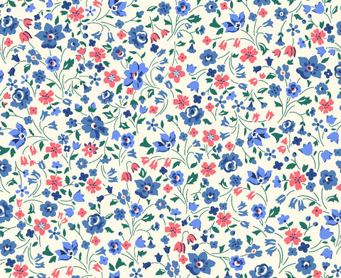 Liberty Fabrics - Orchard Garden - Kimberley and Sarah - Red