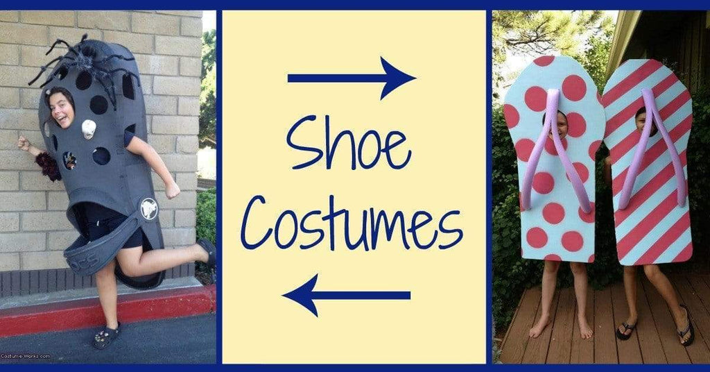 Want To Be A Shoe? 10 Adorable Shoe Costumes.