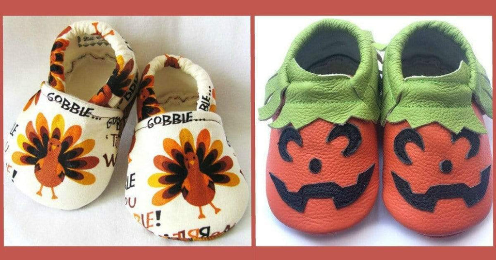 15 Thanksgiving Shoes For Kids That Will Make You Smile