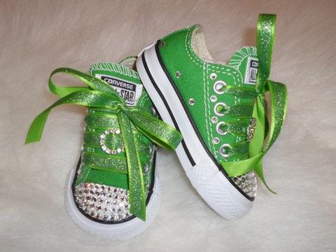 st patricks day kid shoes