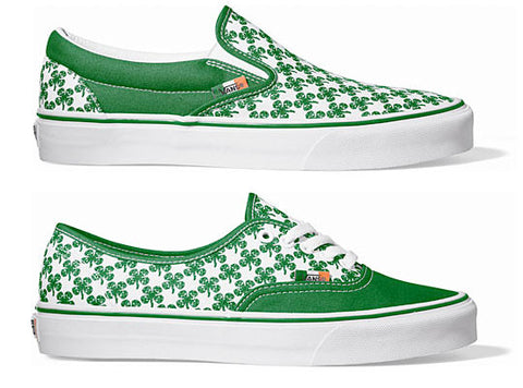 st patricks sneakers