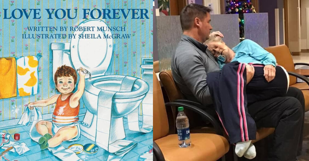 """book: """"love you forever"""""""
