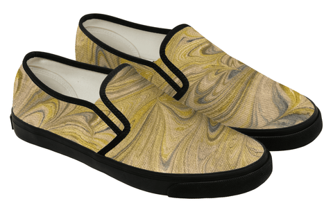 sun shower swirl hand painted loafers - shoe sprinkles