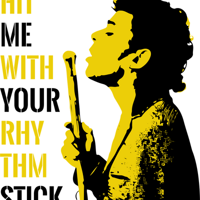 Ian Dury - Yellow Black Combo T-Shirt