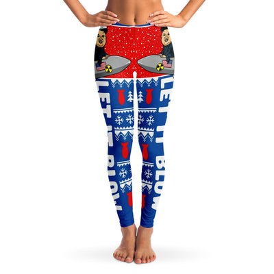 Let It Blow Christmas Leggings