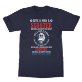 Give a Man a Scooter T-Shirt