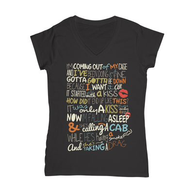 Killers Inspired Lyrics T-Shirt