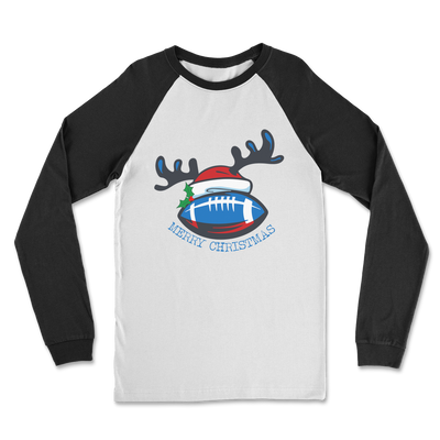 Scottish Merry Christmas Classic Raglan Long Sleeve Shirt