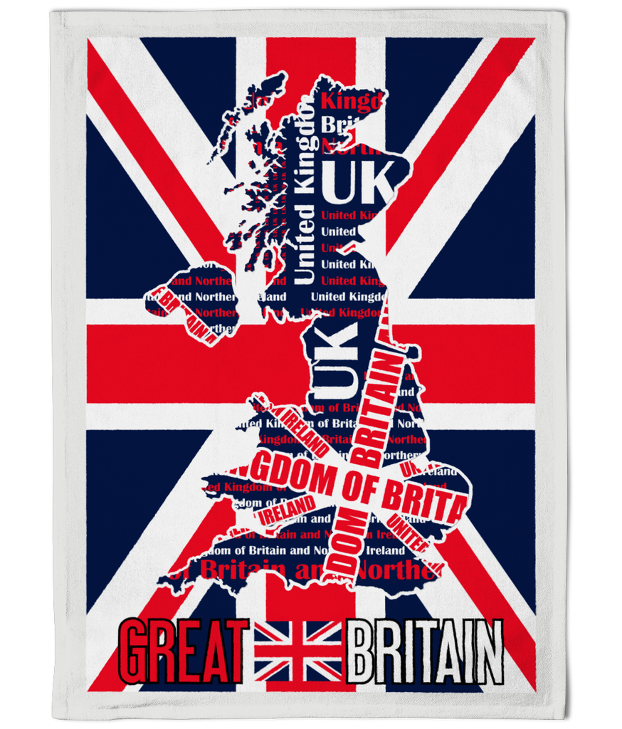 Great Britain Union Jack Tea Towel