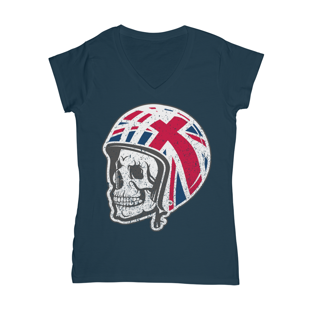 Limited Edition Mods Skull Helmet T-Shirt