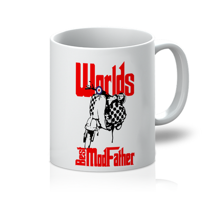Worlds best ModFather 11oz Mug