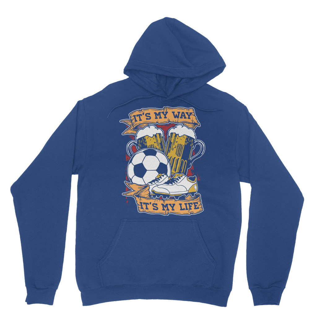 Against Modern Football Hoodie
