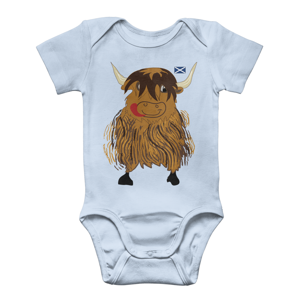 Hairy Coo Kids Classic Scottish Baby Onesie Bodysuit