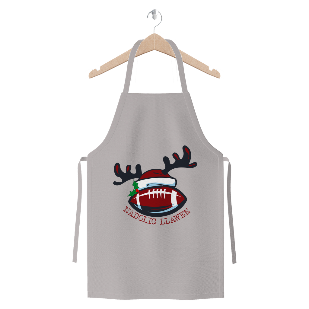 Nadolig Llawen Wales Rugby Premium Jersey Apron