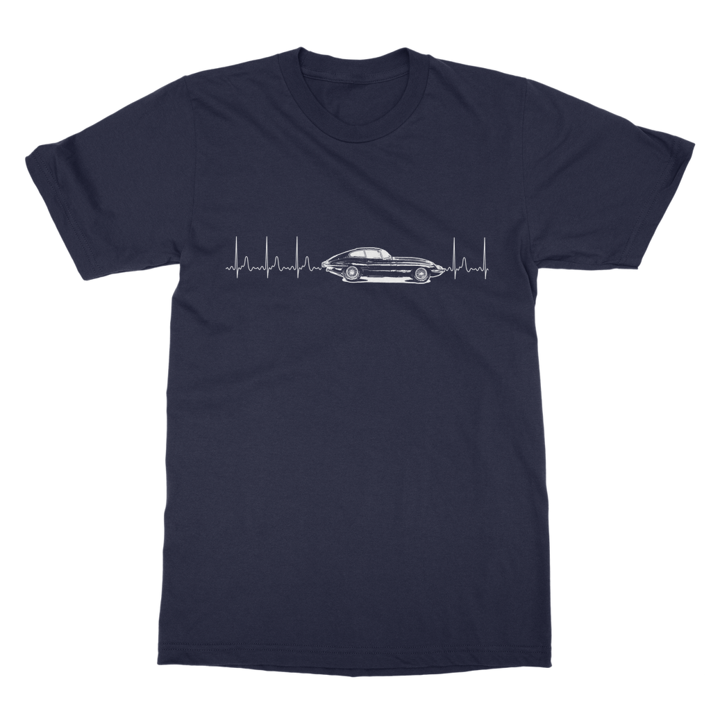 Jaguar E-Type Heartbeat T-Shirt
