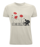 Lest We Forget Unisex Organic T-shirt