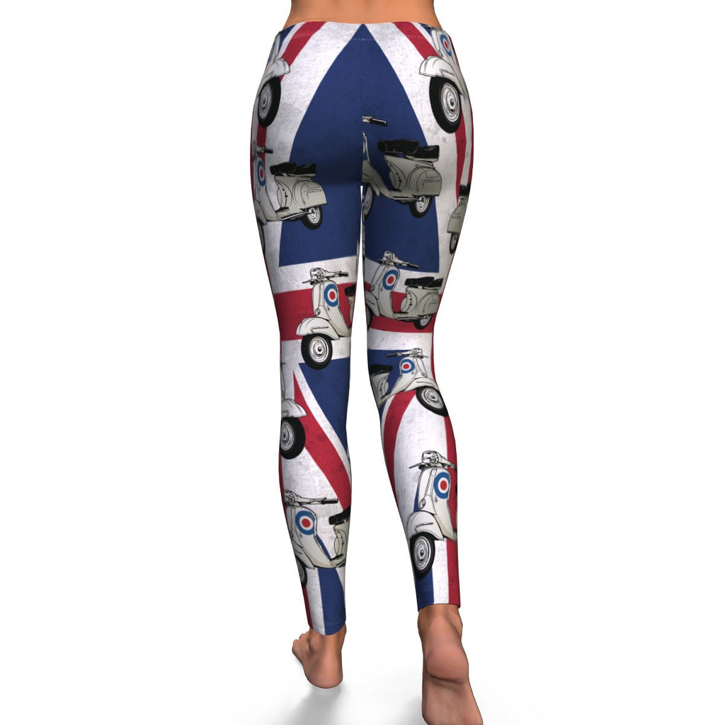 Classic Mod Scooter Leggings