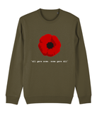 All gave some, Some gave ALL, Dark Organic Sweatshirt