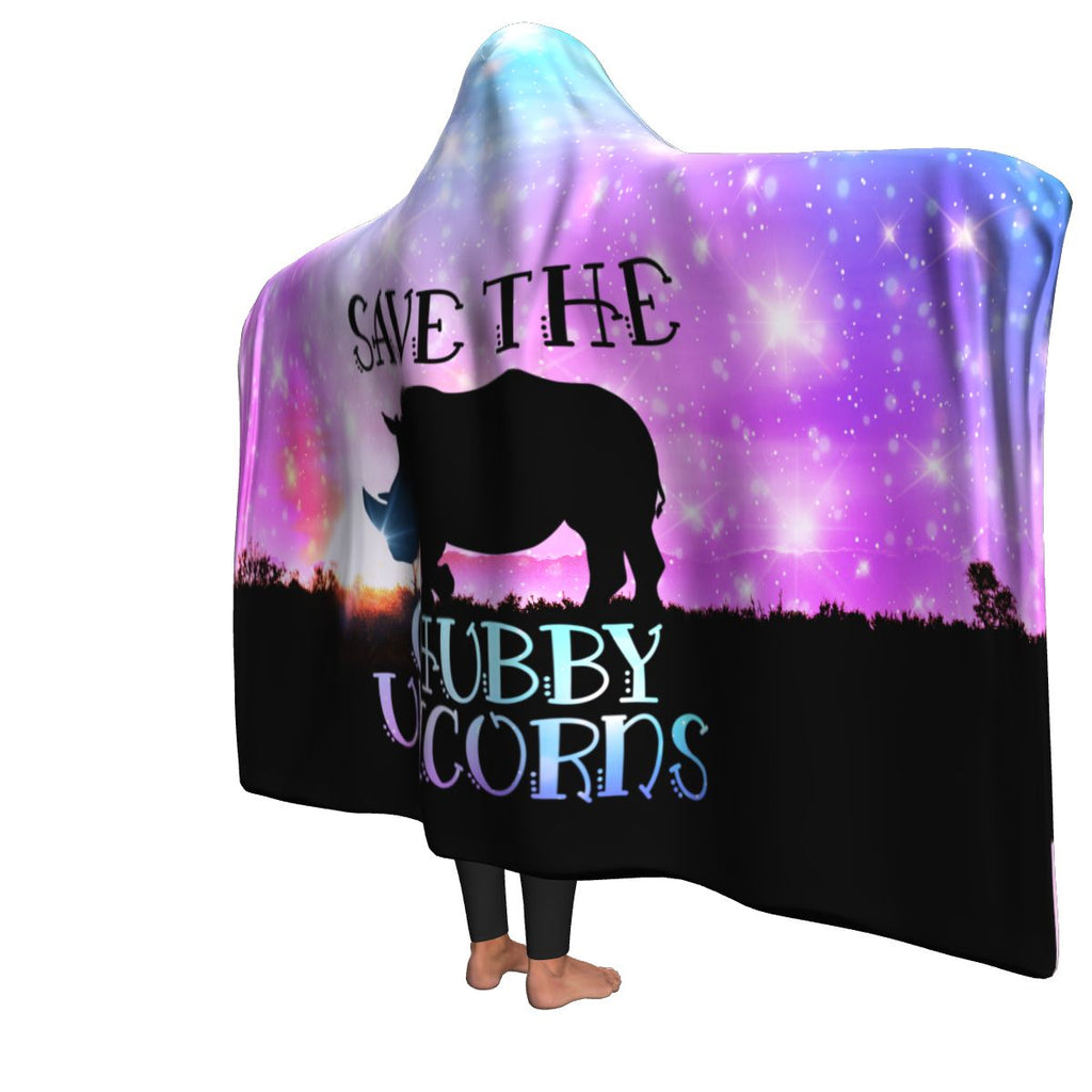 Save The Chubby Unicorns Blanket
