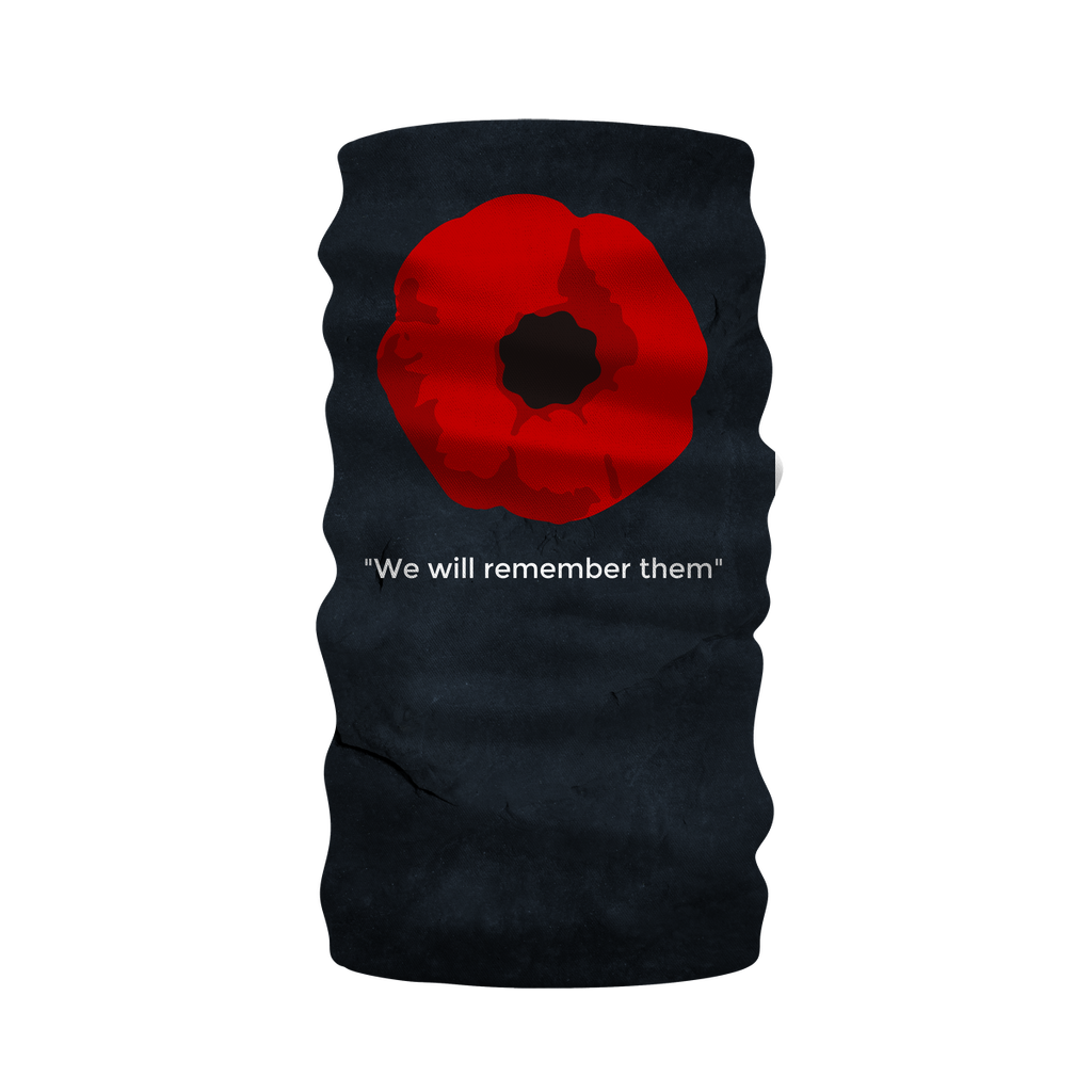 We will Remember Neck Gaiter/Snood/Warmer