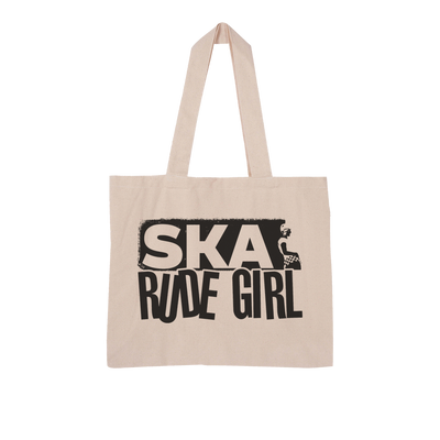 Ska Rude Girl Large Organic Tote Bag