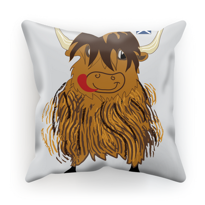 Hairy Coo Kids Sublimation Cushion Cover