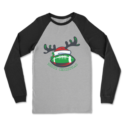 Ireland Rugby Christmas Classic Raglan Long Sleeve Shirt