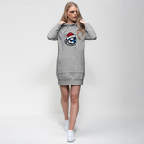 Scottish Football Christmas Premium Adult Hoodie Dress