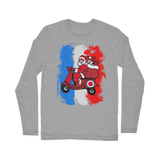 Mod Santa Scooter Classic Long Sleeve T-Shirt