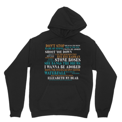 Limited Edition Lyrics Hoodie