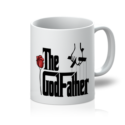 GodFather White 11oz Mug