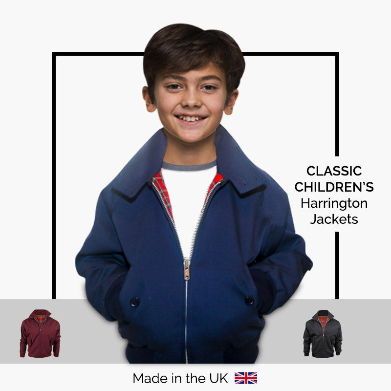 Classic Children's Harrington Jackets - Made in the UK