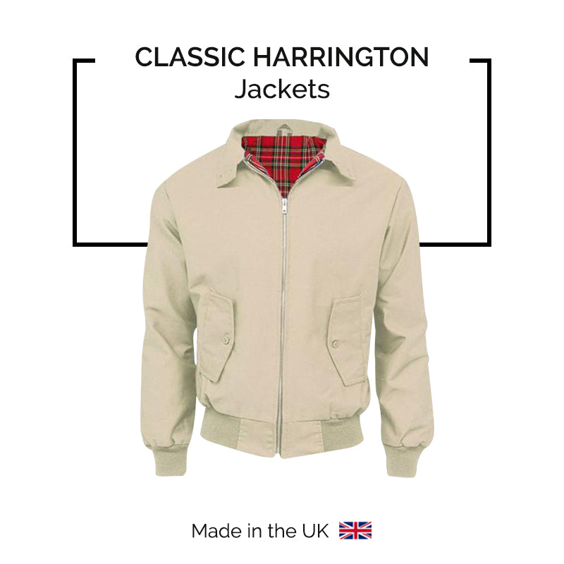 Classic Harrington Jacket - Made in the UK