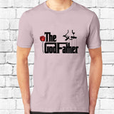 GodFather Black Text T-Shirt