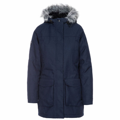 Trespass Ladies Thundery Waterproof Parka Jacket